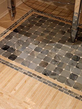 Tile as Rug