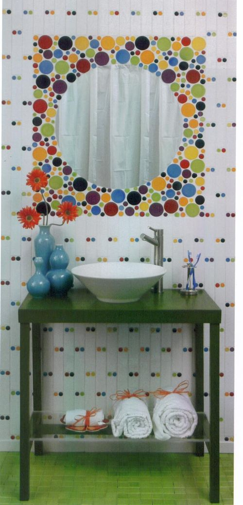 Tile as whimsy