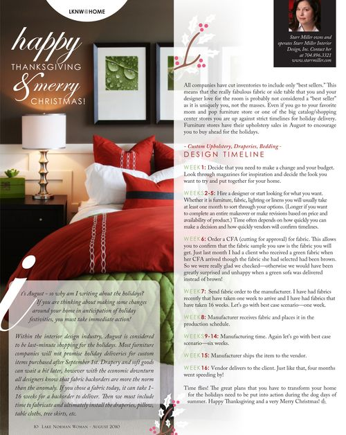 Starr Miller Interior Design, Inc.: Press